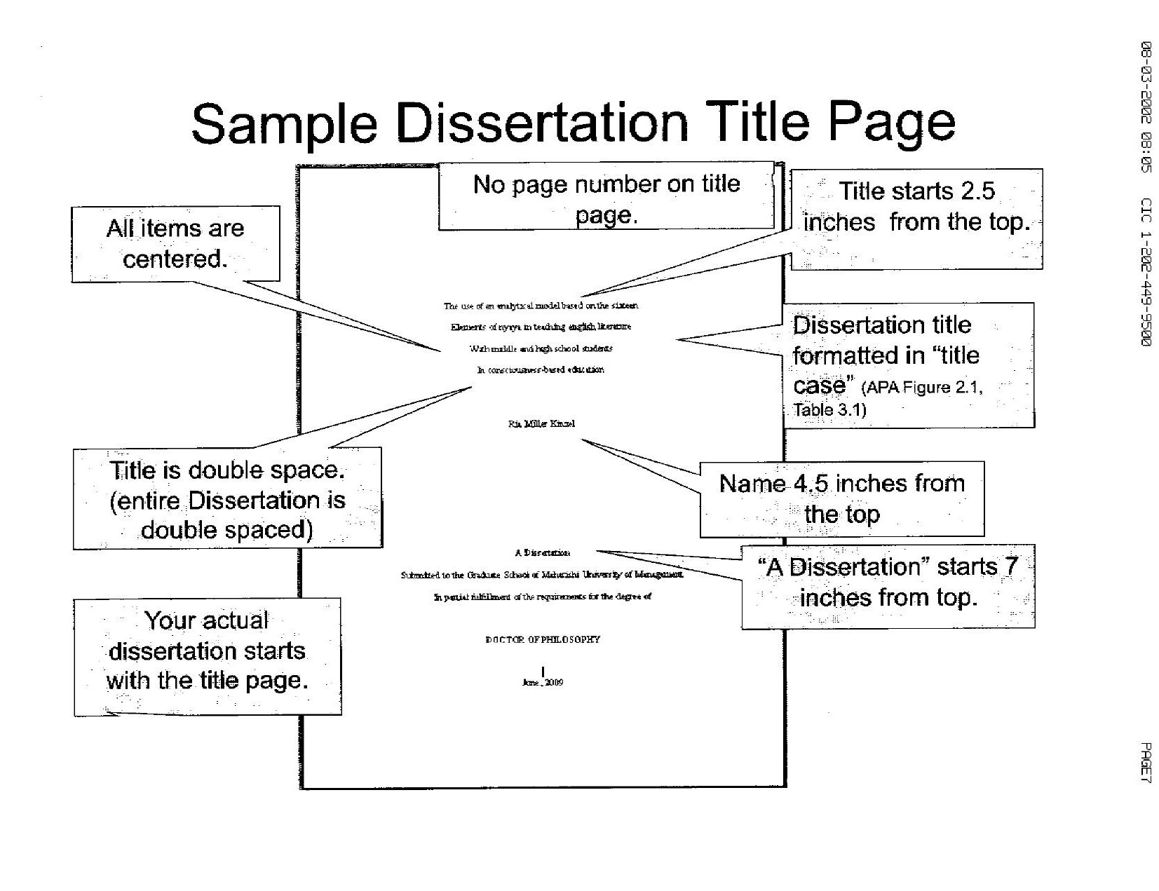 Phd Dissertation Help Requirements